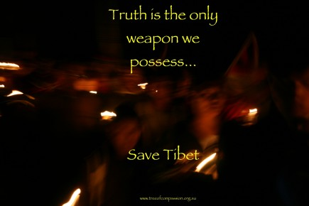 """Truth is the Only Weapon We Possess"""